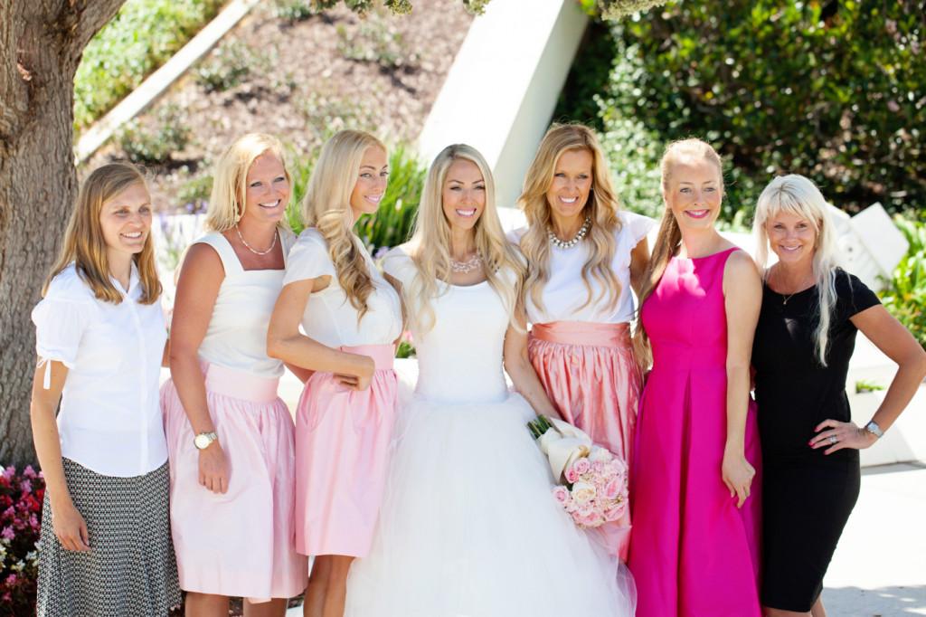 Abby, Tara, Liz, me, Heather, Margaret Garske, and Joanna