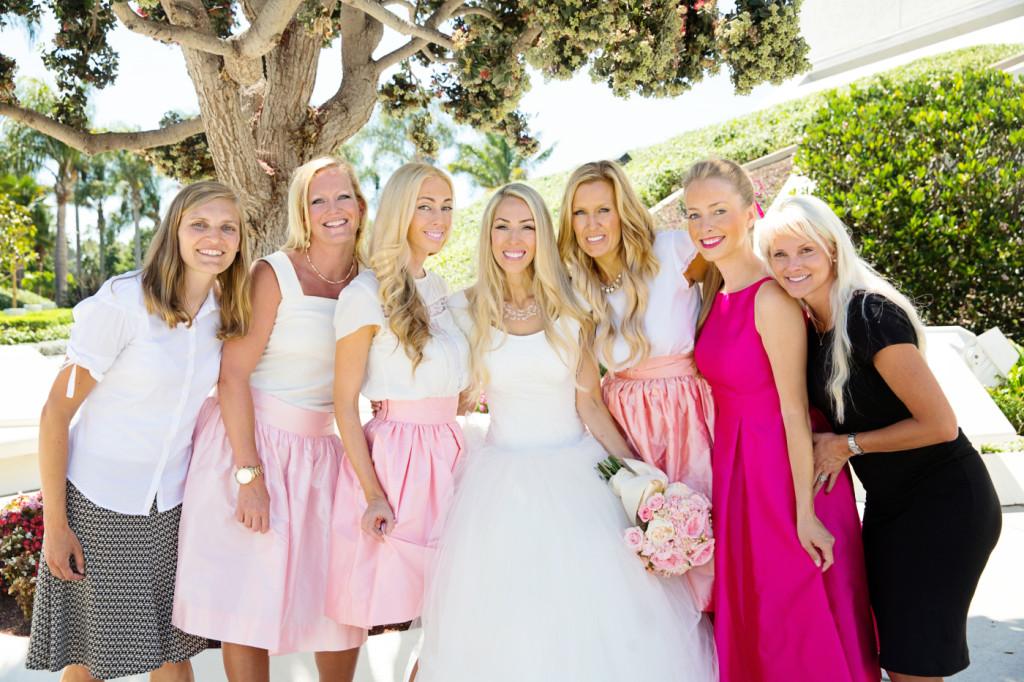 Abby, Tara, Liz, me, Heather, Margaret Garske and Joanna Larsen.